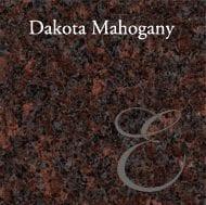 Emerson Monument | Dakota Mahogany Granite Sample