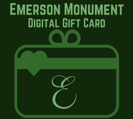 Emerson Monument | Gift Cards