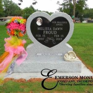Heart Shape Memorials